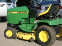 For Sale: 130 John Deere Lawn Tractor with 30in mowing