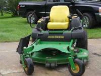 John Deere mower in excellent condition, only 232.9