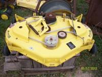 "44"" PIRANHA MOWER DECK FOR LX MOWERS USED CALL THOMAS"