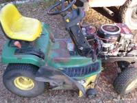 I have one john deer LX 172 38 inch mower with kawasaki