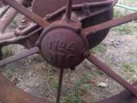 John Deere Sickle Bar Mower - Antique - horse drawn -