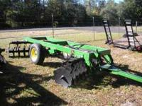 "JOHN DEERE OFF SET HARROW 9 FT. 22"" BLADES NO E-MAILS"