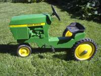 I have a john deere 520 pedal tractor in GREAT shape. I