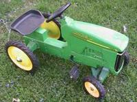 Lightly used pedal tractor and trike for kids