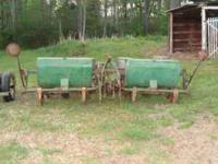 I have for sale a 4 row John Deere planter in very good