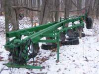 1450 j. d. 6 x18'' plow field ready, $1275.00. .
