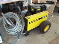 john deere pressure washer 4500 psi like new with