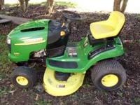 jonh deere is in good shape like new i just service
