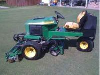 I have two 2653a John Deere reel mowers. High qaulity