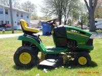"this 42"" mower is about a year old and has it all,sells"
