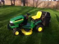 2009 John Deere L135 riding mower nice machine must