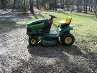 John Deere LA100 series lawnmower. 18.5 horsepower