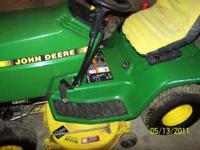 I have a 1998 model John Deere riding mower for sale.