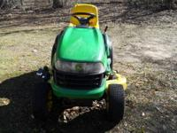 For Sale Riding John Deere Mower selling as isn no