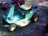 John Deere Rx73 rear engine riding mower that runs