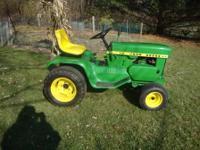 """John Deere 112 Lawn Tractor """"New"""" 10hp Tecumseh short"""