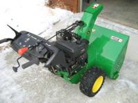John Deere Snowblower 13 HP. Excellent condition with