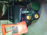 For sale!! JD 524 snowblower, runs good. comes with