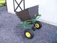 spreader used one time, bought from john deere dealer