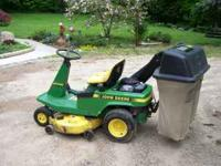 John Deere step on lawn mower Model SRX95 , rear 12.5