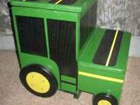 This is handmade by myself. John Deere two step step