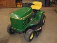 for sale,, john deere stx 38 riding lawn tractor.. a