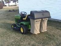 Kohler 12.5 hp. Good condition with 38 inch deck.  or