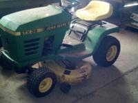 "John Deere STX 38 Mower, 12.5 hp Kohler engine 38"" gear"
