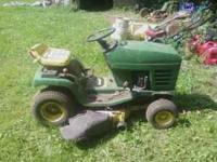 all i know is this mower is from the 90's and i believe