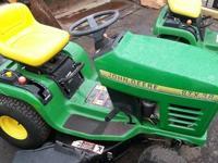 "13 hp Stk #: CC001377 STX38 tractor 38"" CUTTING WIDTH"