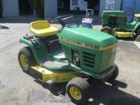 John Deere STX38 Lawn Tractor Make: John Deere Model: