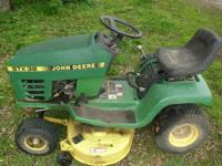 This mower is for parts or fix.I was using this mower
