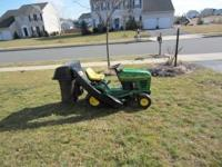 John Deere STX38 12.5hp kohler engine ,runs great 38
