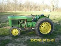 1974 John Deere 1020 tractor gas new hydrolic pump, new