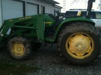 2000 John Deere, Hydrostat 460, with 4600 Loader arm