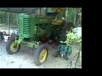 1950 John Deere Parade tractor. Running well when