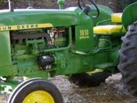 JOHN DEERE 1010 SPECIAL ,, RESTORED ,, SLICK METAL AND