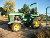 Hello i have a John Deere collectors Tractor Up For