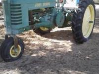 1941 John Deere Model B Good Paint Practically New Rear