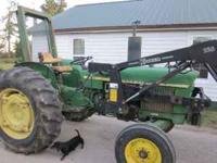 80s model 1530 john deere tractor runs great everything
