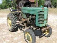 This little 1949 tractor was purchased new by my