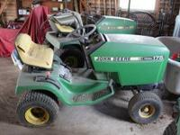 Two John Deere Tractor mowers for sale 1 - 316 John