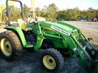 This is a 2005 John Deere 4320 with a 400X loader