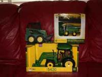 New in the box tractor New in the box small combine