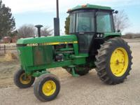 3 John Deere tractors for sale. The first is a 1983