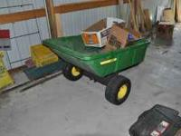 John Deere 10P Utility Cart - excellent condition.