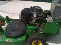 I have a John Deere Model GS30 Walk Behind Commercial