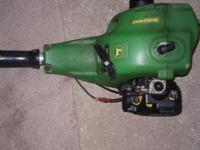 I have a John Deere weed wacker for sale works great