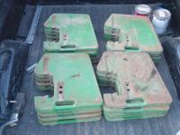 Original John Deere suit case weights, have 20 weights
