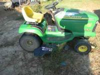 John Deere mower DONT run but good for parts or to fix